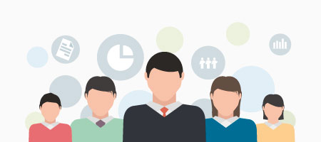 Amplio equipo de consultores financieros