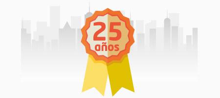 25 años de experiencia como correduría de seguros