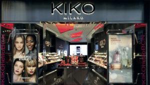 Tienda de KIKO Milano en Barcelona. Grupo Atisa y KIKO Milano